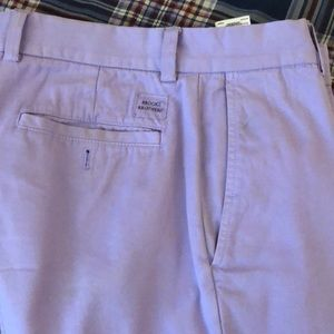 Brooks brothers Milano fit chino in lavender